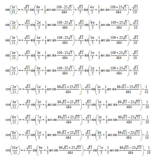 Bonyolult matematikai egyenletek